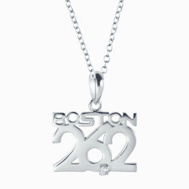 Livia Collection Sterling Silver Boston 26.2 Necklace