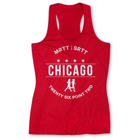 Women's Performance Tank Top - Chicago 26.2 (MRTT/SRTT)
