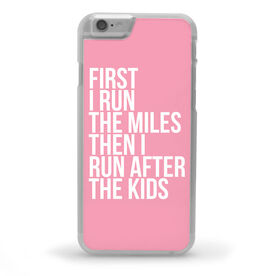 Running iPhone® Case - Then I Run After The Kids