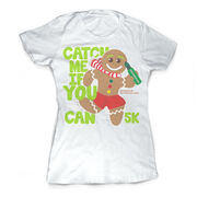 Running Vintage Fitted Tee - Catch Me If You Can