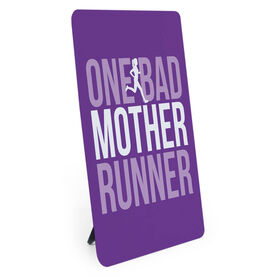 Running Desk Art - One Bad Mother Runner