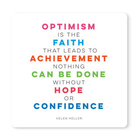 """Running 12"""" X 12"""" Removable Wall Tile - Optimism"""