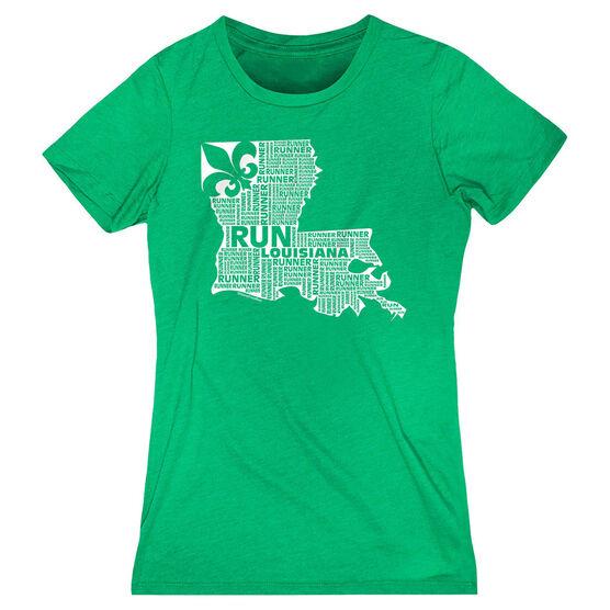 Women's Everyday Runners Tee Louisiana State Runner