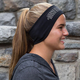 Running Reversible Performance Headband Courage Strength Resolve