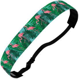 Athletic Juliband No-Slip Headband - Flamingos