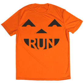 Men's Running Short Sleeve Tech Tee Pumpkin Run