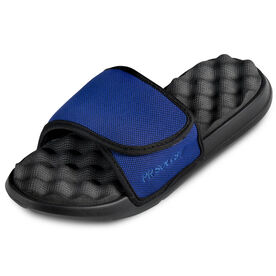 PR SOLES® Premier Adjustable Strap Recovery Slide Sandals (BLUE)