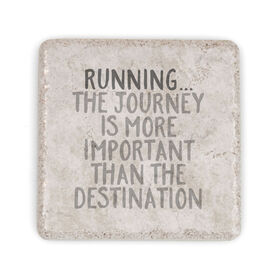 Running Stone Coaster Running... The Journey Is More Important