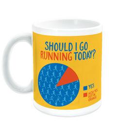 Running Coffee Mug - Should I Go Running Today