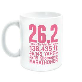 Running Coffee Mug - 26.2 Math Miles