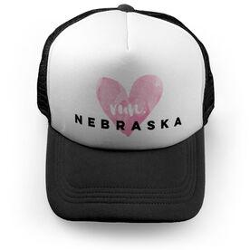 Running Trucker Hat Run Nebraska