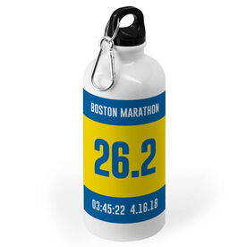 Running 20 oz. Stainless Steel Water Bottle - Custom Bib