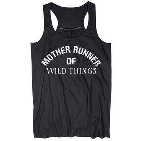 Flowy Racerback Tank Top - Mother Runner of Wild Things
