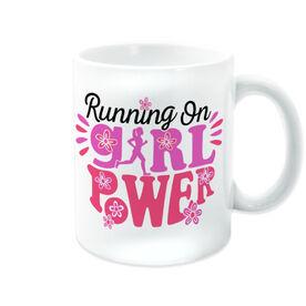 Running Coffee Mug - Running On Girl Power