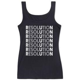 Running Women's Athletic Tank Top - Resolution Run