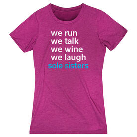 Women's Everyday Runners Tee - Sole Sisters Mantra