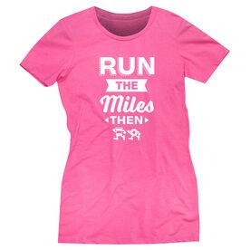 Women's Everyday Runners Tee - Run…Coffee and Donuts
