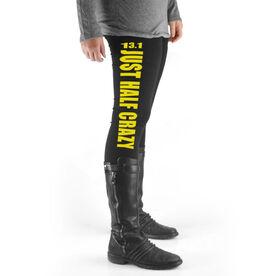 Runner's High Print Leggings 13.1 Half Crazy