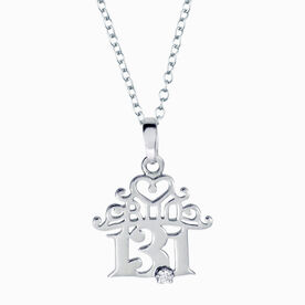 Livia Collection Sterling Silver Princess 13.1 Necklace
