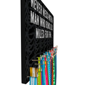 Running Hooked on Medals Large Medal Hanger Customize Me Quote