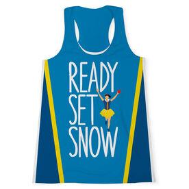 Women's Performance Tank Top - Ready Set Snow
