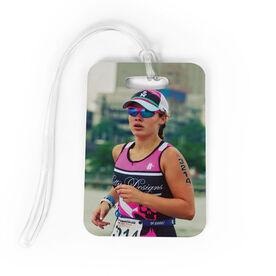 Triathlon Bag/Luggage Tag - Custom Photo