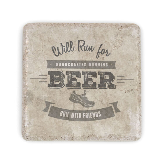 Running Stone Coaster Will Run For Beer