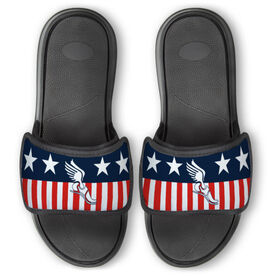 Track & Field Repwell® Slide Sandals - Stars and Stripes