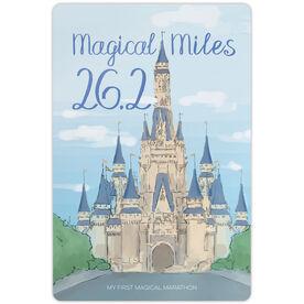"Running 18"" X 12"" Aluminum Room Sign - Magical Miles Sketch"
