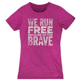 Women's Everyday Runner's Tee We Run Free