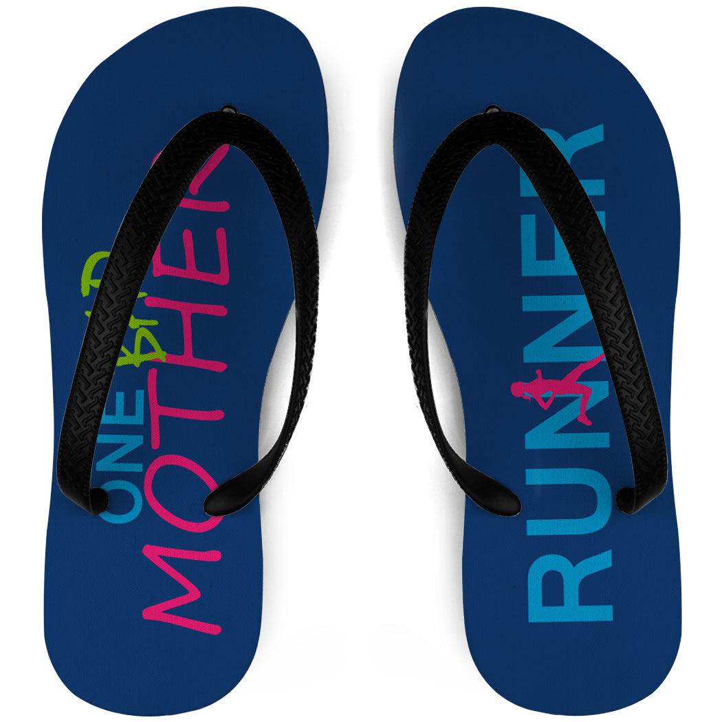 Track and Field Flip Flops Cross Country Love