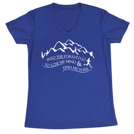 Women's Short Sleeve Tech Tee - Into the Forest I Go