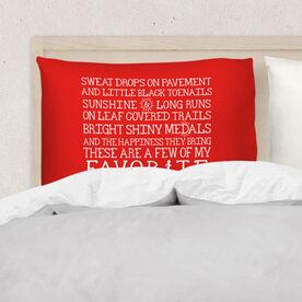 Running Pillow Case - Favorite Things