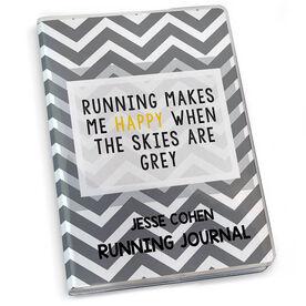 GoneForaRun Running Journal Running Makes Me Happy