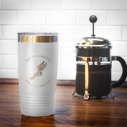 Track & Field 20 oz. Double Insulated Tumbler - Winged Foot Icon
