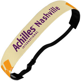 Julibands No-Slip Headbands - Achilles International - Nashville Logo