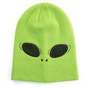 Happy Hatter Alien Beanie Hat & Mask