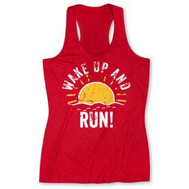 Women's Performance Tank Top - Wake Up And Run