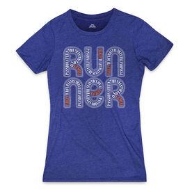 Women's Everyday Runners Tee Gemini Zodiac Runner