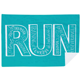 Running Premium Blanket - Run With Inspiration
