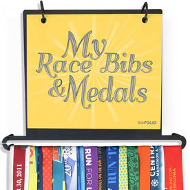 BibFOLIO+™ Race Bib and Medal Display My Race Bibs & Medals