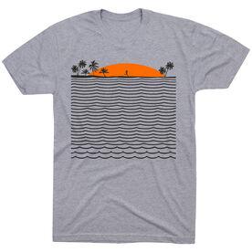 Running Short Sleeve T-Shirt - Chasing Sunsets