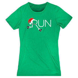 Women's Everyday Runners Tee - Let's Run For Christmas