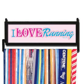 RunnersWALL I Love Running Medal Display