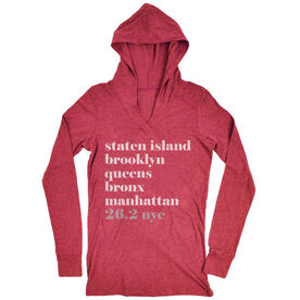 Women's Running Lightweight Performance Hoodie - Run Mantra - NYC