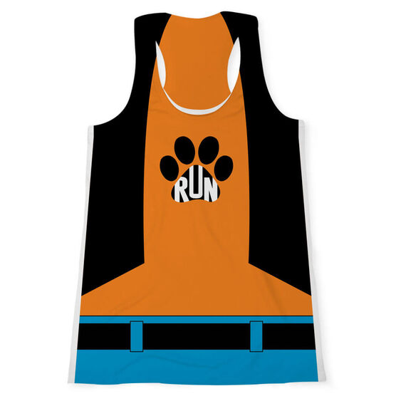 Women's Performance Tank Top - Silly Dog
