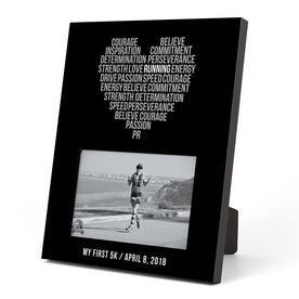 Running Photo Frame - Inspiration Heart