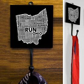 Ohio State Runner Medal Hook
