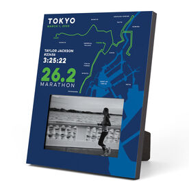 Running Photo Frame - Personalized Tokyo Map