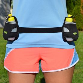 Double Hydration Belt by Run Technology Running Belt System